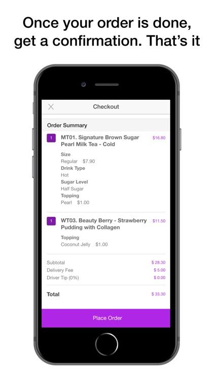 Tealive G.E Mall Ordering screenshot-3
