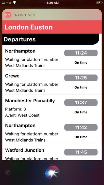 Train Times - Station Boards screenshot-6