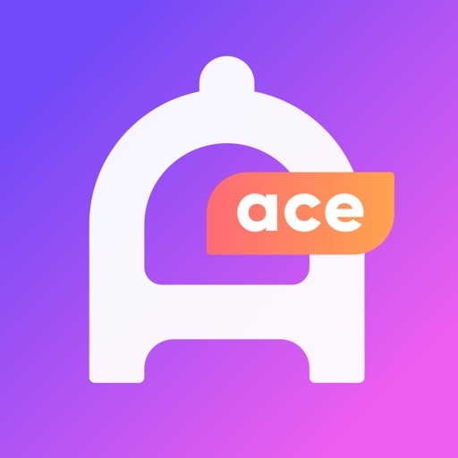Ace app - is all about dating app logo
