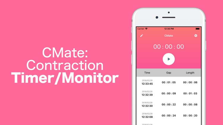 CM: Contraction Timer/Monitor screenshot-3