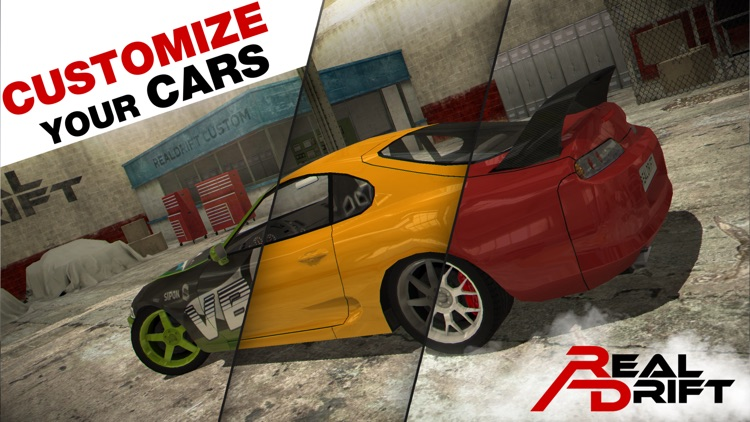 Real Drift Car Racing Lite screenshot-5