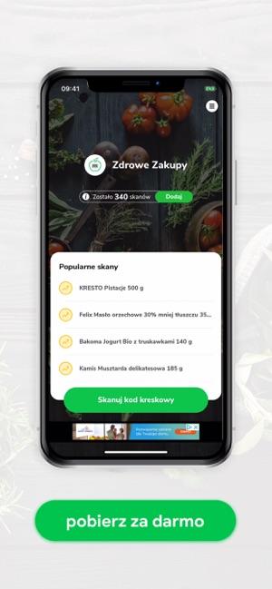 Aplikacja Zdrowe Zakupy W App Store
