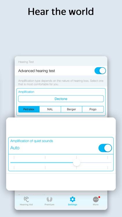 Petralex Hearing Aid App screenshot-6