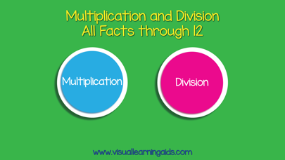 Multiplication Division Cards screenshot one