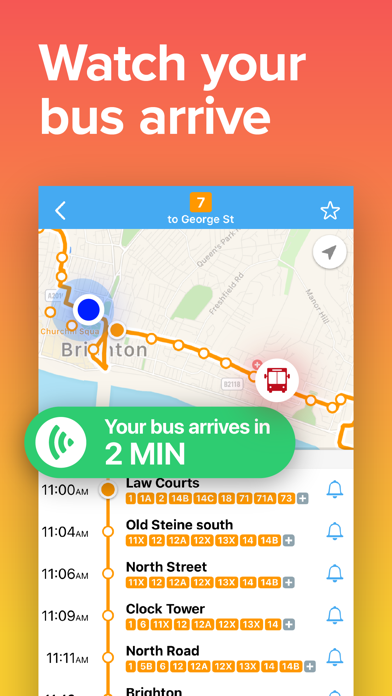 Next Bus Brighton • Bus Times screenshot three