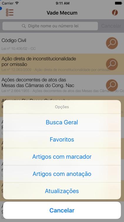 Vade Mecum Pro Direito Brasil screenshot-4