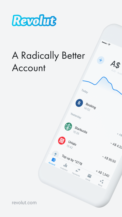 Screenshot for Revolut - Radically Better in Netherlands App Store