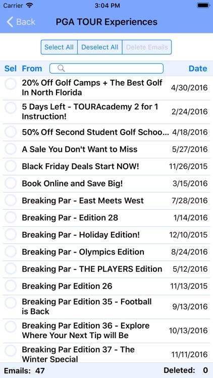 Delete Emails screenshot-6