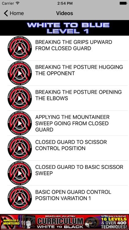 BJJ Coach CURRICULUM Jiu Jitsu screenshot-5