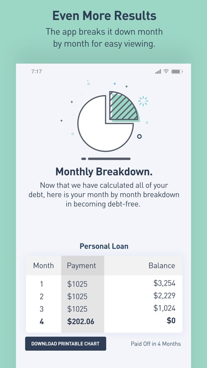 Debt Snowball Calculator screenshot-3
