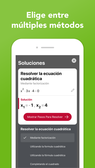 Screenshot for Photomath in Spain App Store