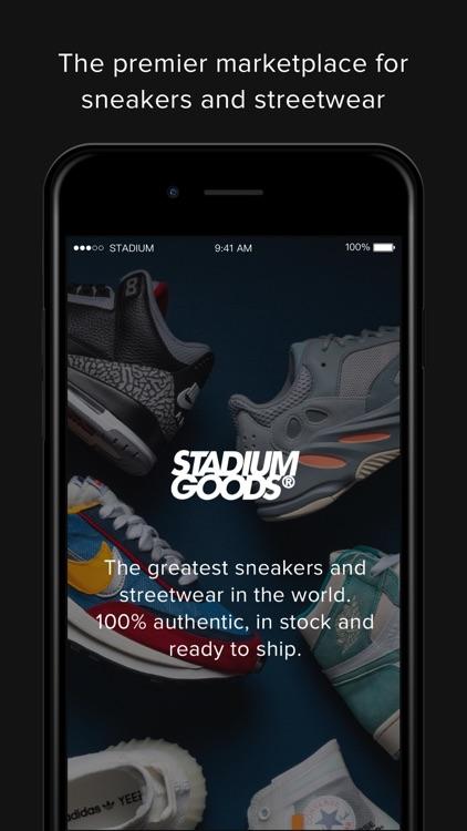 Stadium Goods screenshot-0