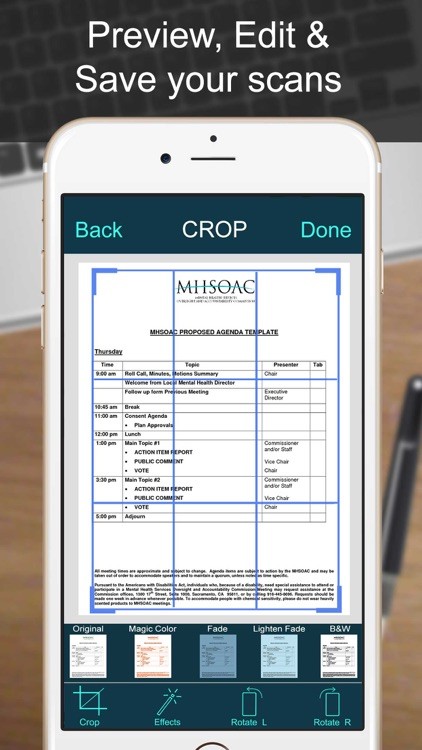 PRO SCANNER- PDF Document Scan screenshot-4