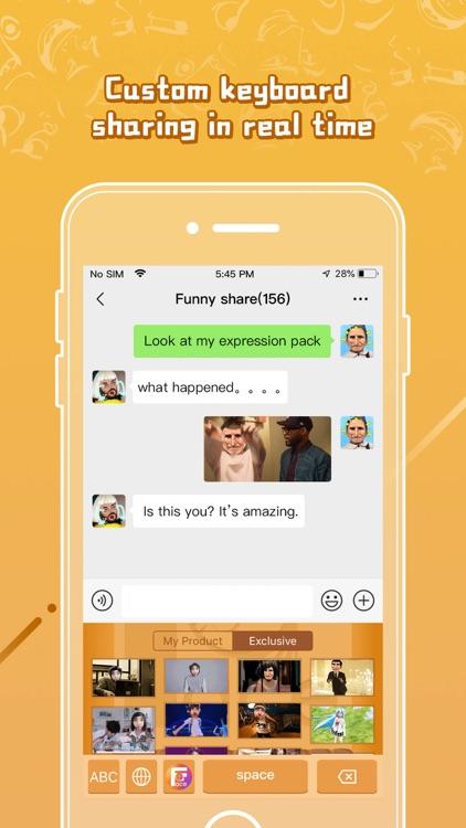 Face Meme - emoji gif maker screenshot-3