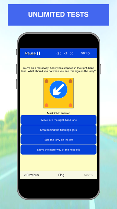 Screenshot for Driving Theory Test - 2019 in Indonesia App Store