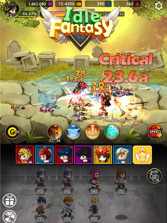 Idle Fantasy Merge RPGのおすすめ画像7