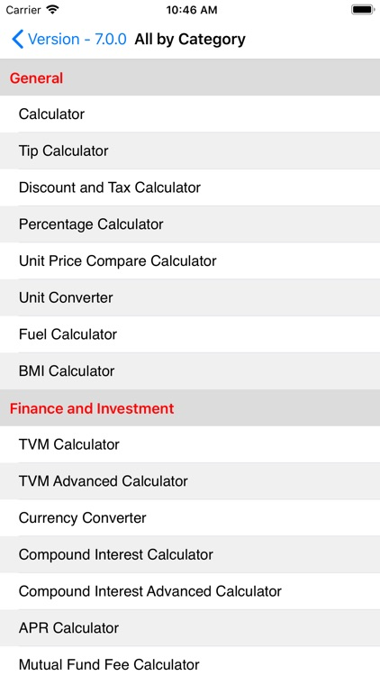 EZ Financial Calculators screenshot-9