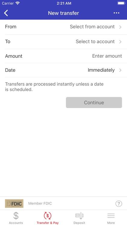 Universal Bank Mobile Banking screenshot-4