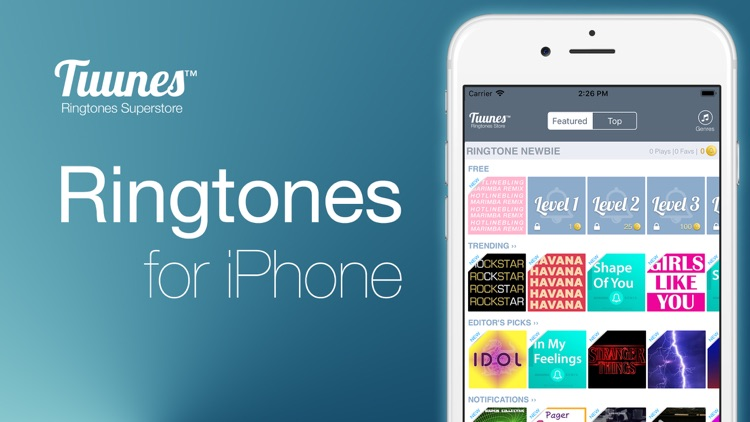 TUUNES™ Ringtones & Music screenshot-8