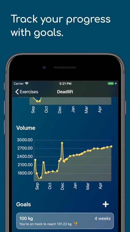 Healthy Gym - Workout Tracker screenshot-3
