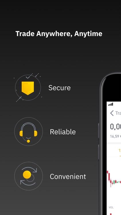 Binance: Buy Bitcoin Securely