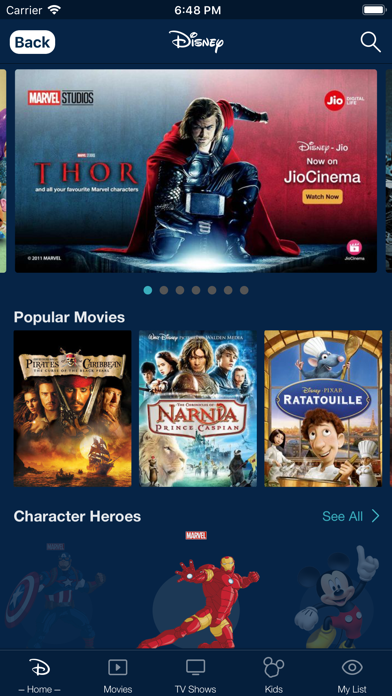 Screenshot for JioCinema in India App Store