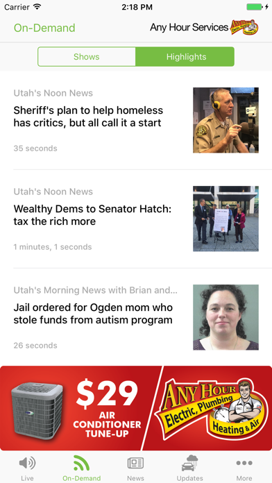 KSL News Radio screenshot three