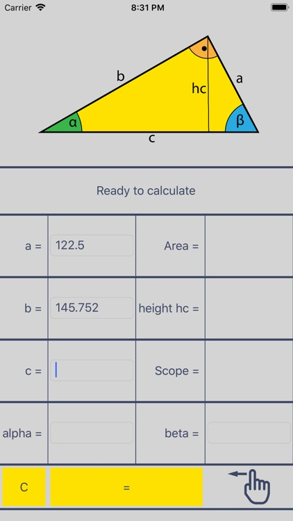 Right Triangle Solver screenshot-2