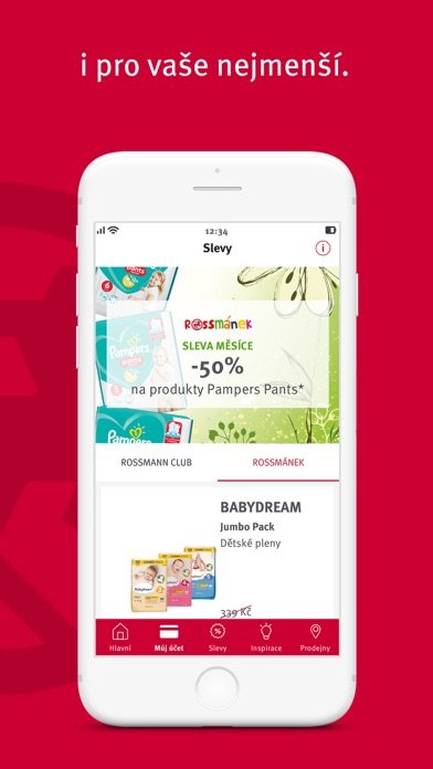 Screenshot for ROSSMANN CLUB in Jordan App Store