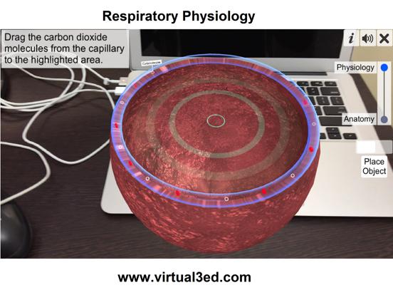 AR Respiratory system physiolo screenshot 14