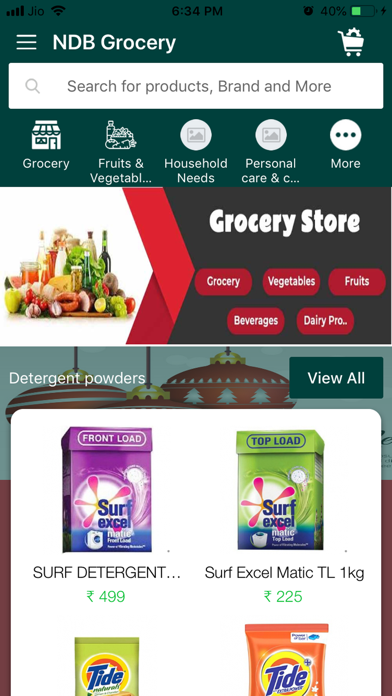 NDB Grocery screenshot 1