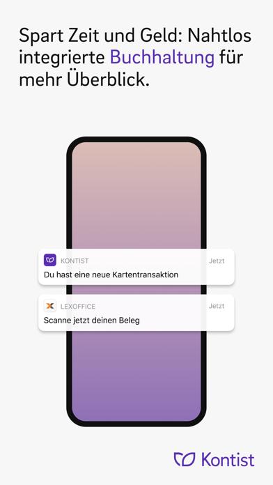 Kontist GeschäftskontoScreenshot von 3