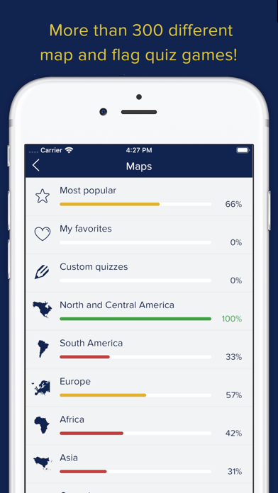 Screenshot for Seterra Geography (full) in United States App Store