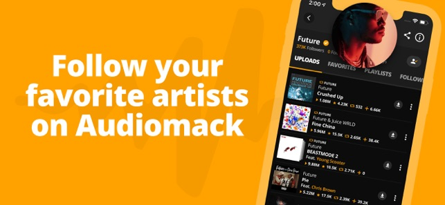 Audiomack | Offline New Music on the App Store