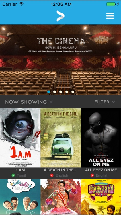 SPI Cinemas Movie Tickets