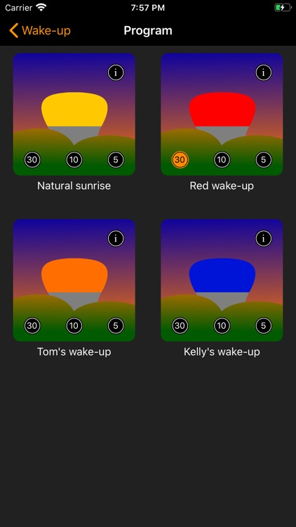 Wake-ups for Philips Hue screenshot-3
