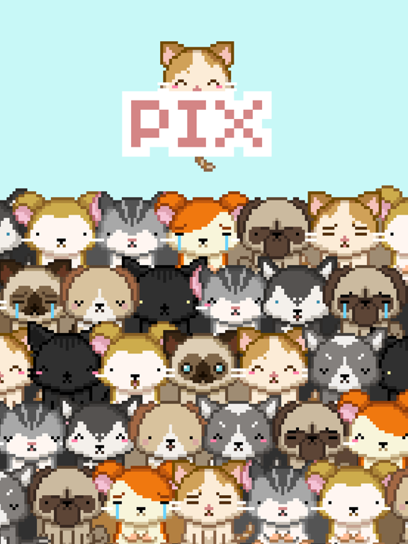 Pix! - Virtual Pet Widget Game screenshot 10