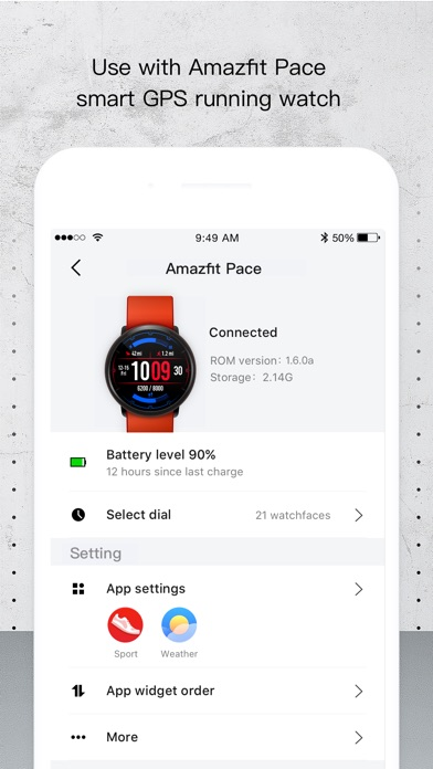 Screenshot for Amazfit Watch in Chile App Store