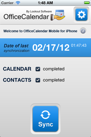 OfficeCalendar Mobile - náhled