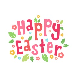 Spring & Happy EASTER Stickers