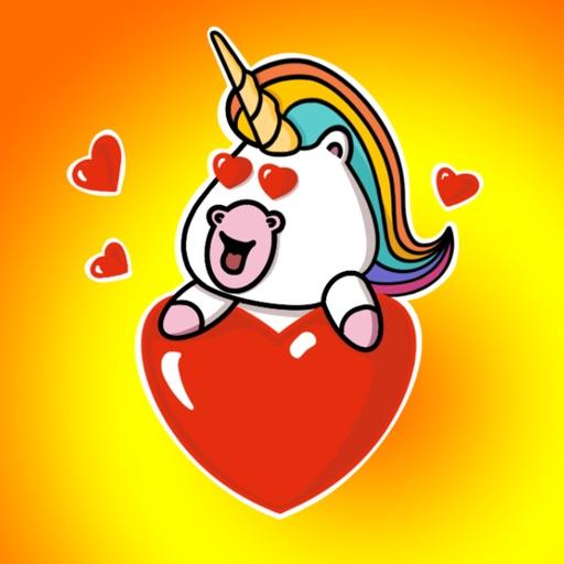 Cute Unicorn - Sticker Pack