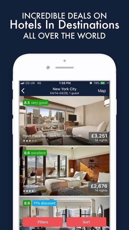 Hipbooker: Flight & Travel App