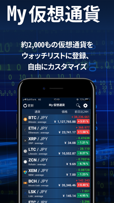 My 仮想通貨 ScreenShot0