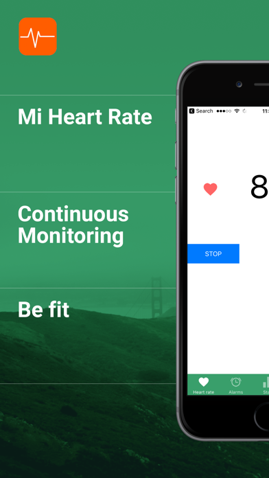 Mi Heart rate - be fitのおすすめ画像1