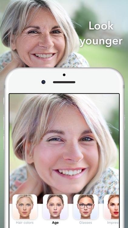 FaceApp - AI Face Editor screenshot-4