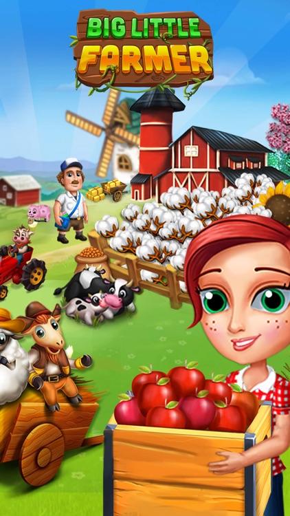 Big Little Farmer Offline Game screenshot-0