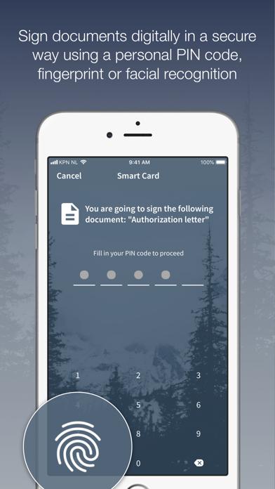 Digidentity screenshot four