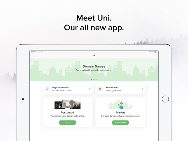 Uni Domains on the App Store