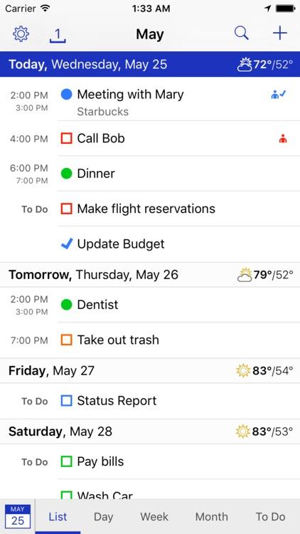 BusyCal: Calendar & Todos