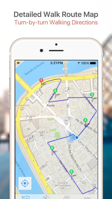 Tel Aviv Map & Walks (F) screenshot four